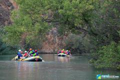 Rafting en el Cañón de Almadenes con visita a dos Cuevas, Arte Rupestre y Rep. Fotográfico