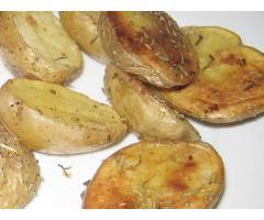 Patatas asadas al horno