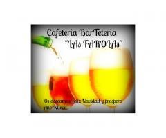 """Cafetería Bar  Teteria """"LAs FAROLAs"""""""