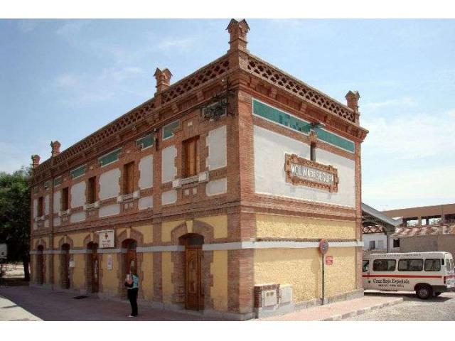 Estación tren y muelle de Molina de Segura