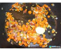 Alcachofas en salsa de vino