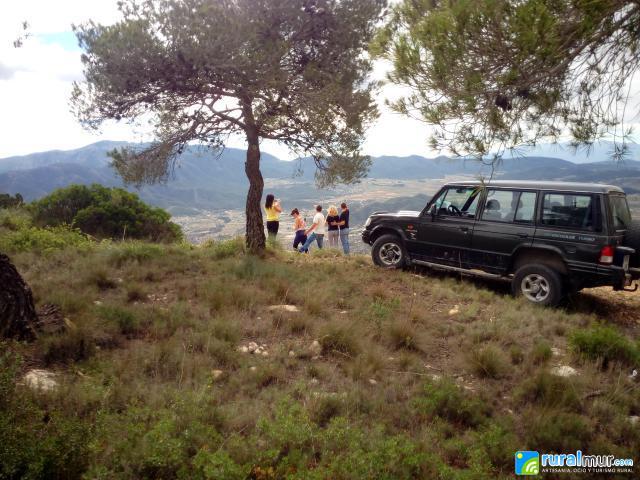 Rutas en  4x4 por el Valle de Ricote