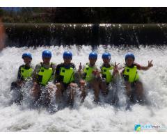 BURRAFTING: Senderismo con burros y descenso/rafting en el Valle de Ricote